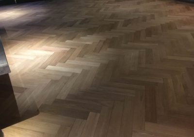 Re-sanding the floor of an Adelaide bar - After
