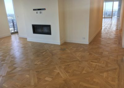 Floor sanding in an Adelaide apartment - After