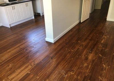 Floor sanding & staining done in suburban Adelaide - After