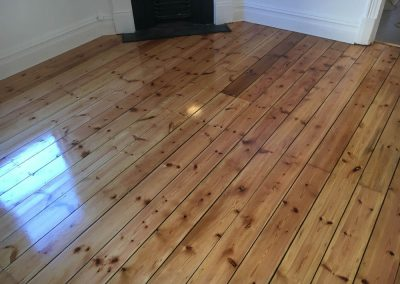 Floor repair done in this Magill client's home - After